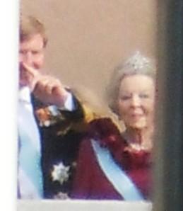 Prins Willem-Alexander och Drottning Beatrix.