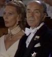 Paret vid prinsessan Christinas bröllop 1974. Foto SVT